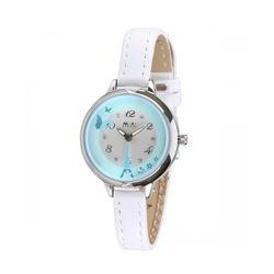 Đồng hồ Mini Hàn Quốc MN2046 màu xanh trắng