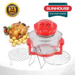 Lò nướng thủy tinh Sunhouse 416