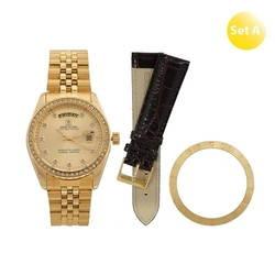 Đồng hồ cao cấp SWISS GUARD Mạ vàng 18K