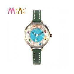 Đồng hồ Mini Hàn Quốc MN2047 màu xanh