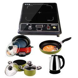 Bộ SP Goldun PHÚC LỘC: Bếp Hồng ngoại Goldsun New GSH-3009 (L)