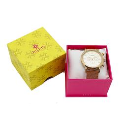 Đồng hồ nam mạ vàng Julius JAH 090 tặng 1 đồng hồ nữ mạ vàng