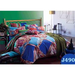 Bộ drap bọc+chăn chần gòn Julia 180x200m-J490