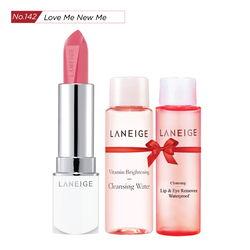 Tặng thêm Gương THỜI TRANG LANEIGE_Son thỏi sắc nét Laneige Silk Intense Lipstick #142 Love Me New Me