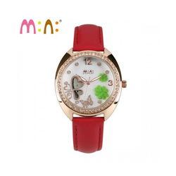 Đồng hồ Mini Hàn Quốc MN2048 màu đỏ