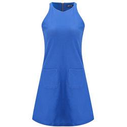 Đầm sát nách phối túi Kisetsu KI311608 màu xanh