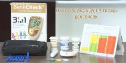 Máy đo đường huyết 3 trong 1 Beneckech Plus