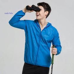 ABS – Combo 2 áo khoác chống nắng (Trắng + Xanh) tặng 2 kính
