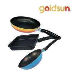 Bộ 3 chảo chống dính tiện dụng Goldsun