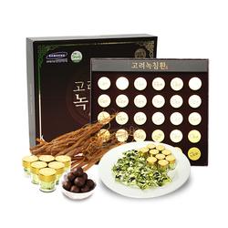 01 hộp (30 viên) Viên hoàn trầm hương nhung hươu Hàn Quốc + 05 gói nước bổ gan Hovenia