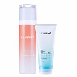 Bộ đôi dưỡng da căng mịn tức thì Laneige Fresh Calming Morning Mask