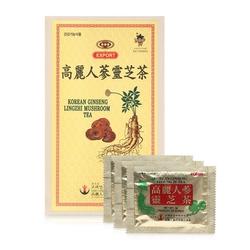 Khánh Tân_02 hộp trà sâm linh chi Hàn Quốc + 1 gói kẹo sâm 200gr
