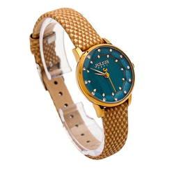 Đồng hồ nữ Julius mặt xanh dương JA-858
