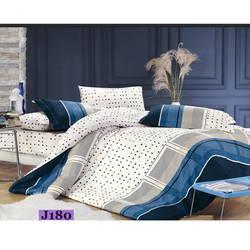 Bộ drap bọc+chăn cotton in hoa J180 Julia 180x200