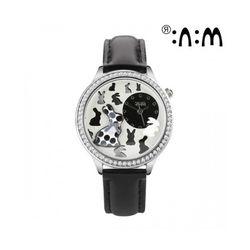 Đồng hồ Mini Hàn Quốc MN2040 màu đen