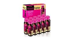 01 hộp (10 lọx50ml) Beauty Fighter Collagen+1 chai (540gr) sữa tắm Kaila+1 chai (650gr)dầu gội Kaila