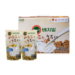 Vegemil_Set 20 Túi/hộp Sữa Đậu Nành, Hạnh Nhân và Óc Chó_Nguyệt Hoa