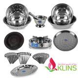 Bộ sản phẩm inox cao cấp 43 món Klins
