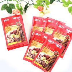 Bộ 02 hộp nước hồng sâm linh chi Korea Insam (30 gói/hôp) + 02 trà gừng