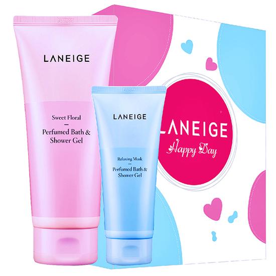 Bộ quà tặng sữa tắm gel hương nước hoa Laneige Sweet Floral