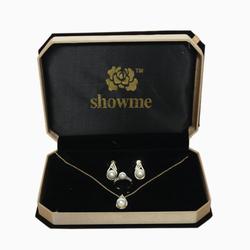 SHOWME- BST trang sức Biển tình yêu / Lửa Hạnh Phúc Mạ vàng 24K (+1 bộ Xanh Lục Bảo + 1 vòng tay )