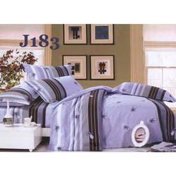 Bộ drap bọc+chăn cotton in hoa J183 Julia 180x200