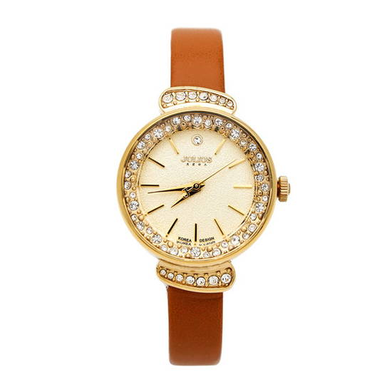 Đồng hồ nữ Julius JA-866 màu nâu