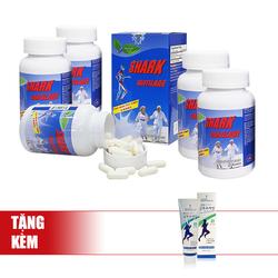 [Nature Gift]-Bộ 5 hộp(100viên/hộp) Sụn cá mập bảo vệ xương khớp Shark Cartilage+ 01 tuýp glucosamin