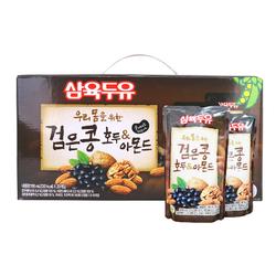 VLP_ 2 hộp ( 40 túi * 195ml ) sữa hạnh nhân óc chó đậu đen Hàn Quốc