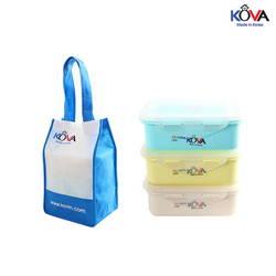 Bộ hộp Kova Colorful Life 600ml (Y,W,B) ( màu ngẫu nhiên )