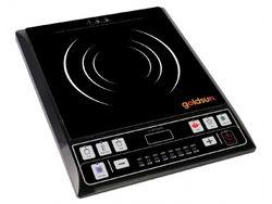 Bộ GS Phú Quý: Bếp điện từ (nồi lẩu) + Nồi cơm nắp gài 1.2L + Bộ 3 nồi 1 chảo inox sơn màu.L