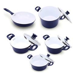 [GN] Bộ 4 nồi 1 chảo Ceramic bếp từ ILO Thịnh Vượng