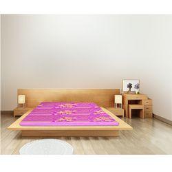 Bee Bee_ Nệm bông ép (1m8x15cm)+ Tặng 1 bộ drap có mền, 1 bộ drap không mền, 1 bộ ruột gối