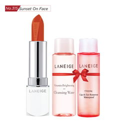 Tặng thêm Gương THỜI TRANG LANEIGE_Son thỏi sắc nét Laneige Silk Intense Lipstick #315 Sunset On Face