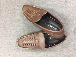 LAKA -Combo 1 giày da + 1 dép  tặng 1 thắt lưng da (tông nâu)