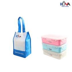 Bộ hộp Kova Colorful Life 600ml (B,W,P) ( màu ngẫu nhiên )