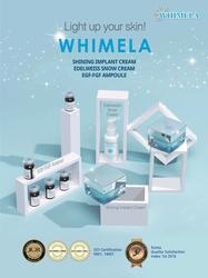 Combo Whimela: 1 Whimela Shining Implant Cream TẶNG 1 Edelweiss Snow Cream + 2 EGF-FGF Ampoule