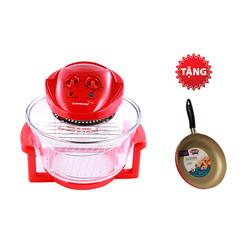 [SUNHOUSE-MB-22] Lò nướng thủy tinh SHD416+ Chảo 24cm