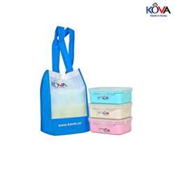Bộ hộp Kova Colorful Life 600ml (B,G,W) ( màu ngẫu nhiên )