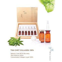 Bộ sản phẩm Tinh chất collagen 100% (10ml x 6chai) + Viên uống Marine Collagen +E