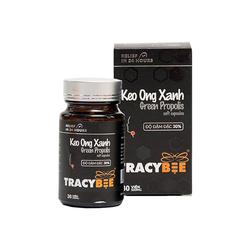 [Tracy Bee] - 2 hủ Keo ong viên (30 viên/hủ) + 1 hủ mật ong hoa cafe (189ml)