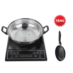 [SUNHOUSE-MN-22] Bếp điện từ (kèm nồi lẩu) SHD6145+ chảo 22cm