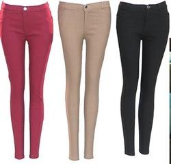 CAGANU-Bộ 3 quần skinny nữ tôn dáng cao cấp + tặng 1 túi xách - 14'