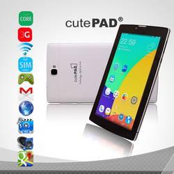 Máy Tính Bảng 7 inch 3G CutePad + bao da + Pin sạc dự phòng