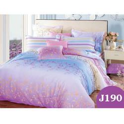 Bộ drap bọc+chăn cotton in hoa J190 Julia 180x200