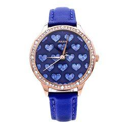 Đồng hồ nữ màu xanh Julius  JA-851