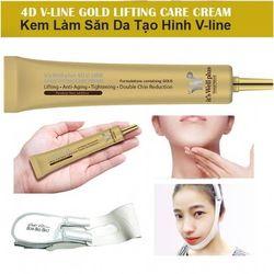 Kem 4D Gold định hình khuôn mặt V-line 4D Gold Cream