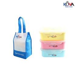 Set lunch box Kova Colorful Life 600ml (Y,P,B)LB600-2 ( màu ngẫu nhiên )
