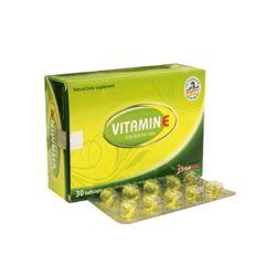 Combo 3 hộp viên uống sáng đẹp da vitamin E