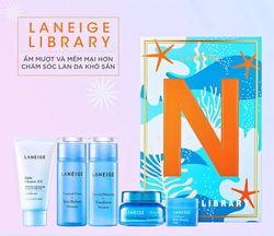 Bộ sản phẩm dưỡng ẩm chuyên sâu cho da Laneige